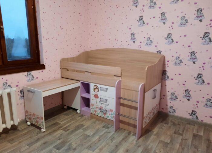 адель кровать чердак